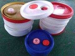 油桶塑料盖超声波焊接案例